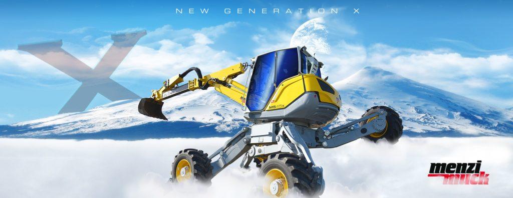 New X-generation Menzi Muck